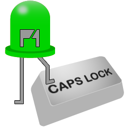 Caps Lock Indicator software version 1.5